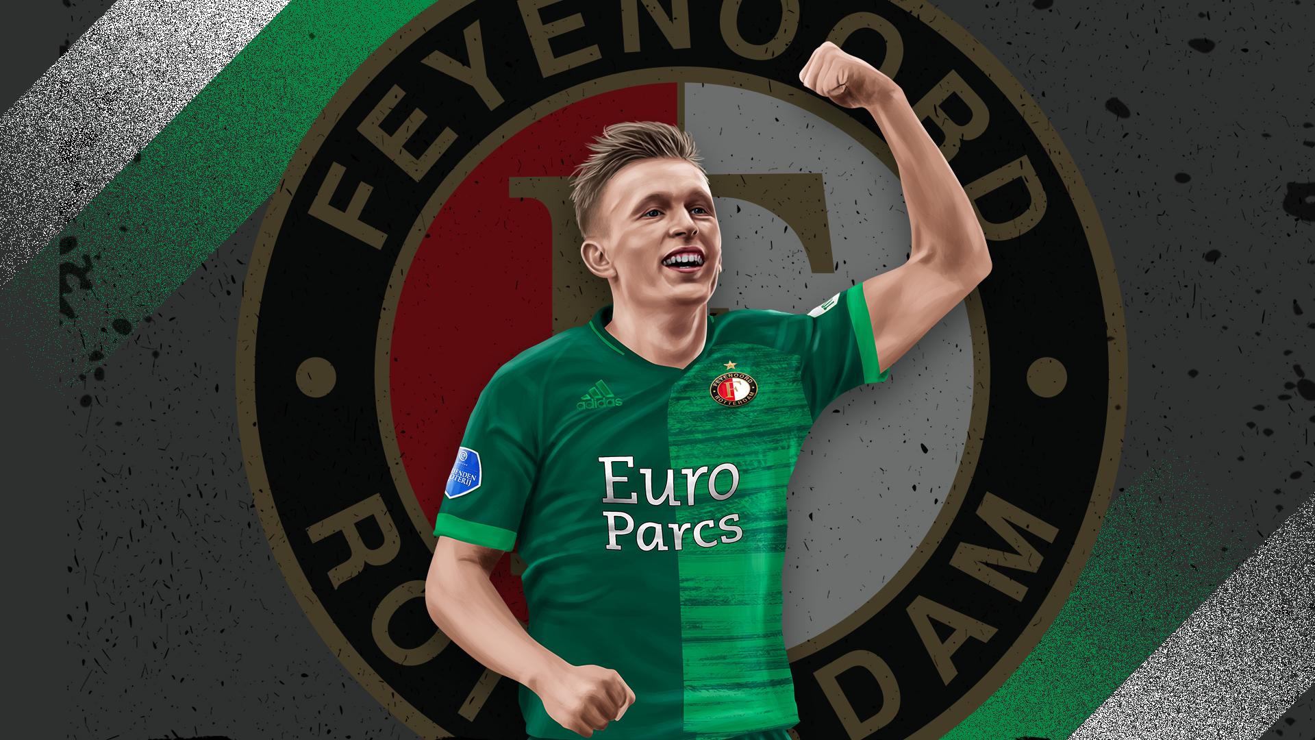 Feyenoord vindt in Holmgren Pedersen nieuwe rechtsback