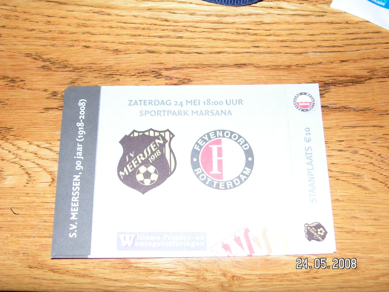 SV Meerssen - Feyenoord 24-08-2008